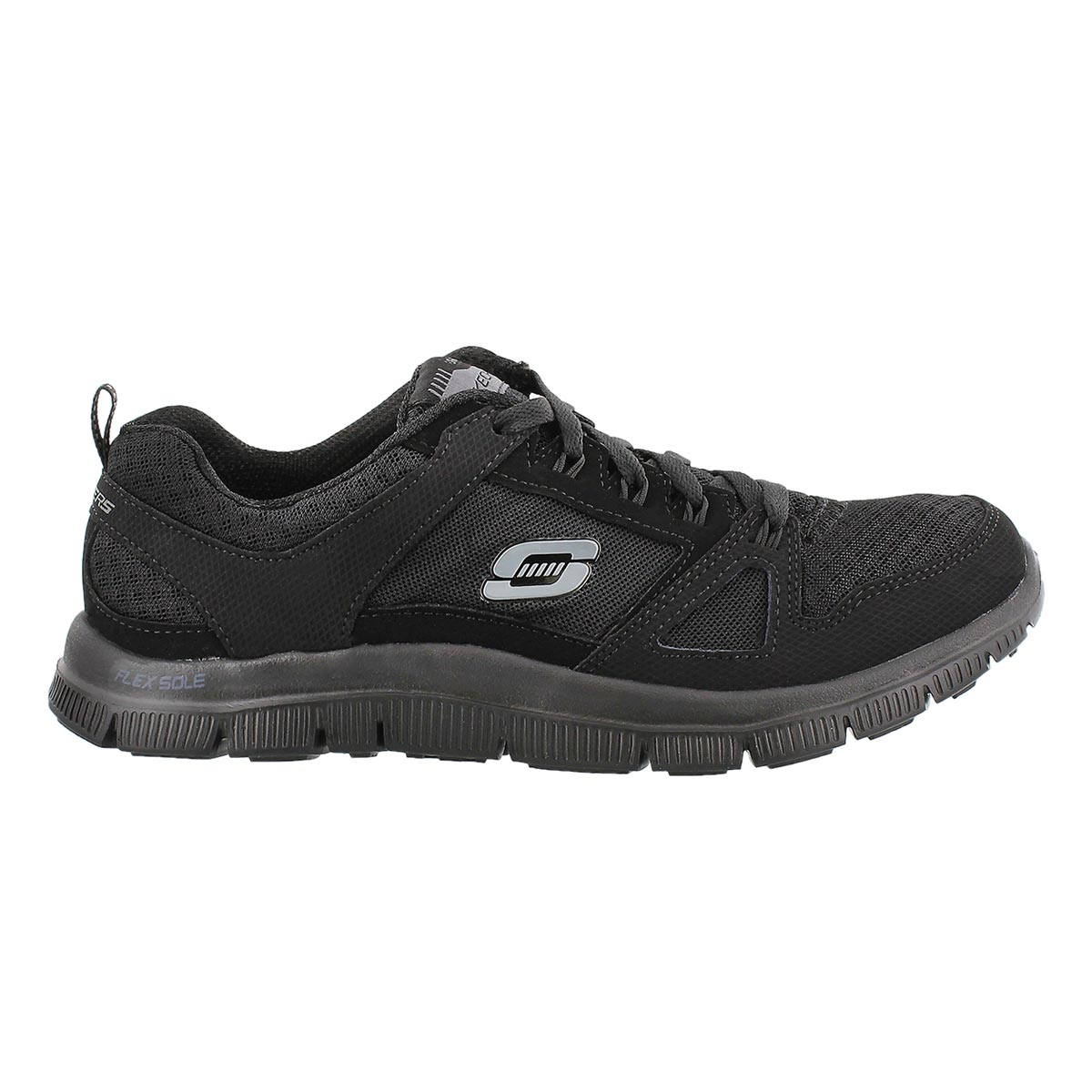 Lds Adaptable black lace up runner
