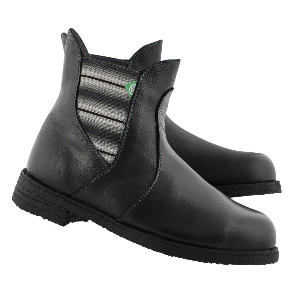 Lds Bunny II black CSA slip on boot