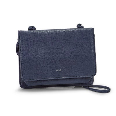 Co-Lab Women's 1211 navy cross body organizer