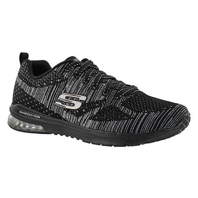 Skechers Women's STAND OUT black lace up sneakers