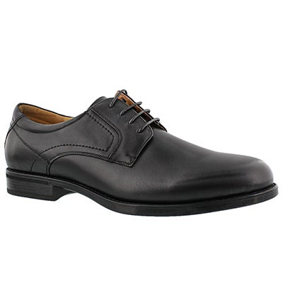Florsheim Men's MIDTOWN PLAIN TOE black dress oxfords - Wide