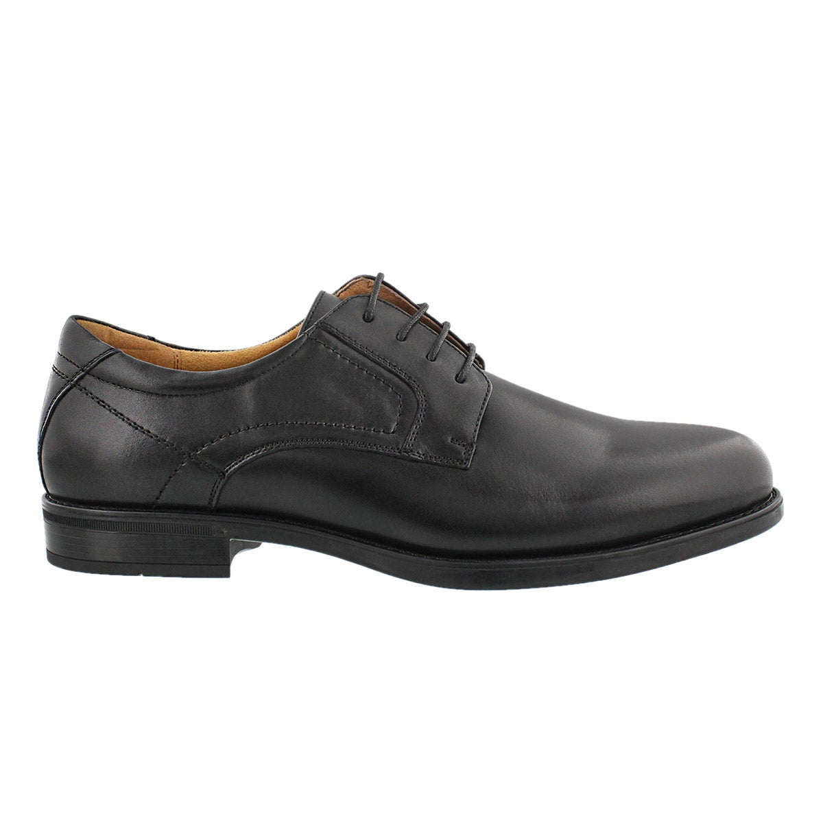 Mns MidtownPlainToe bk dress oxford-wide