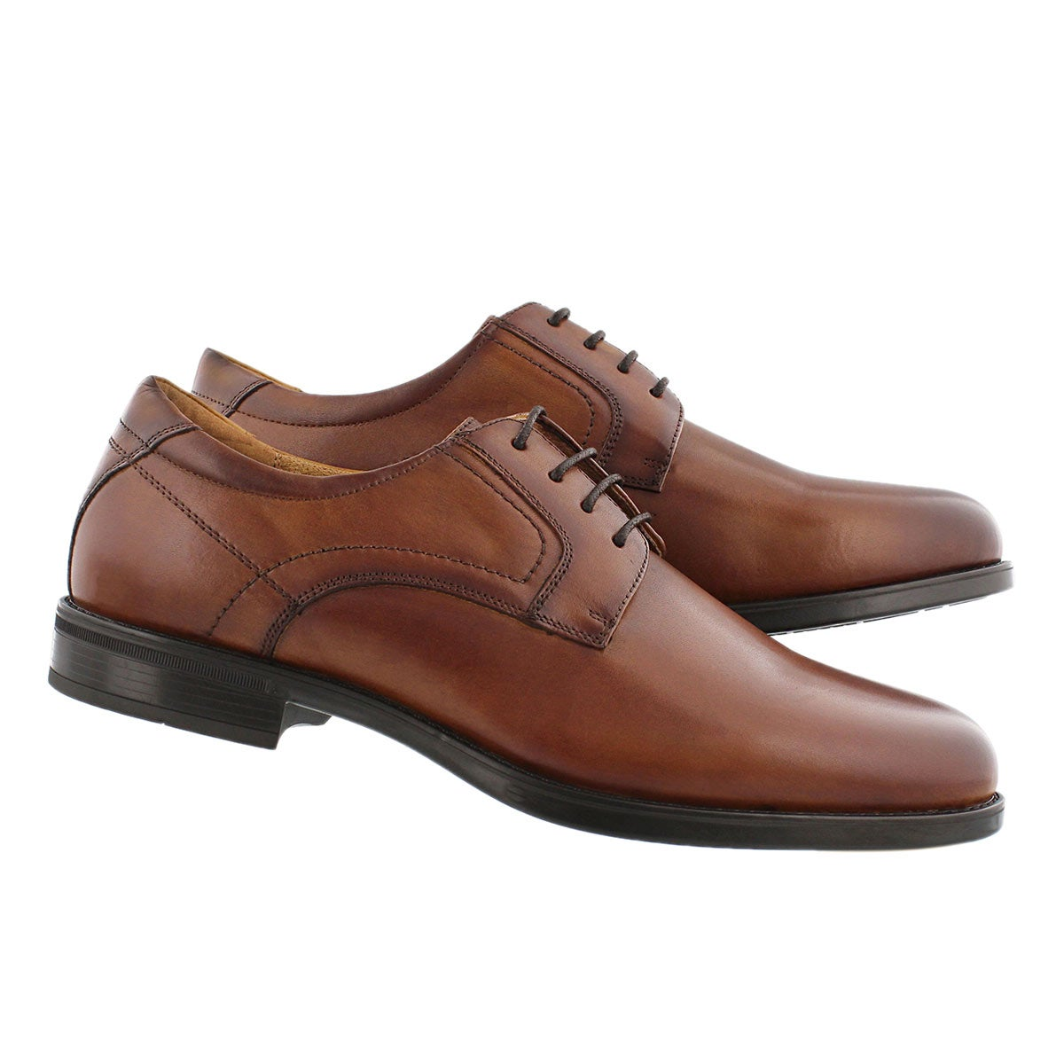 Mns Midtown PlnToe cgn dress oxford-wide