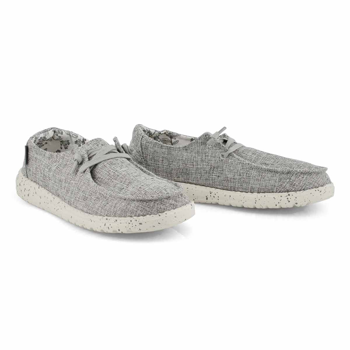 Lds Wendy Linen iron casual shoe