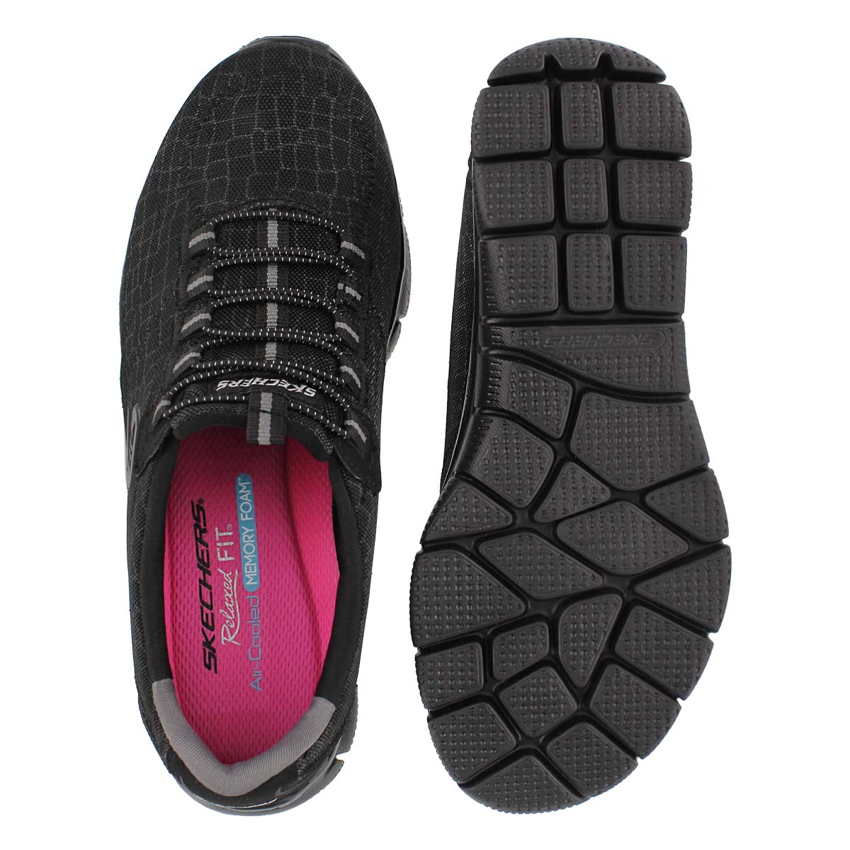 Lds Rock Around black slip on sneaker