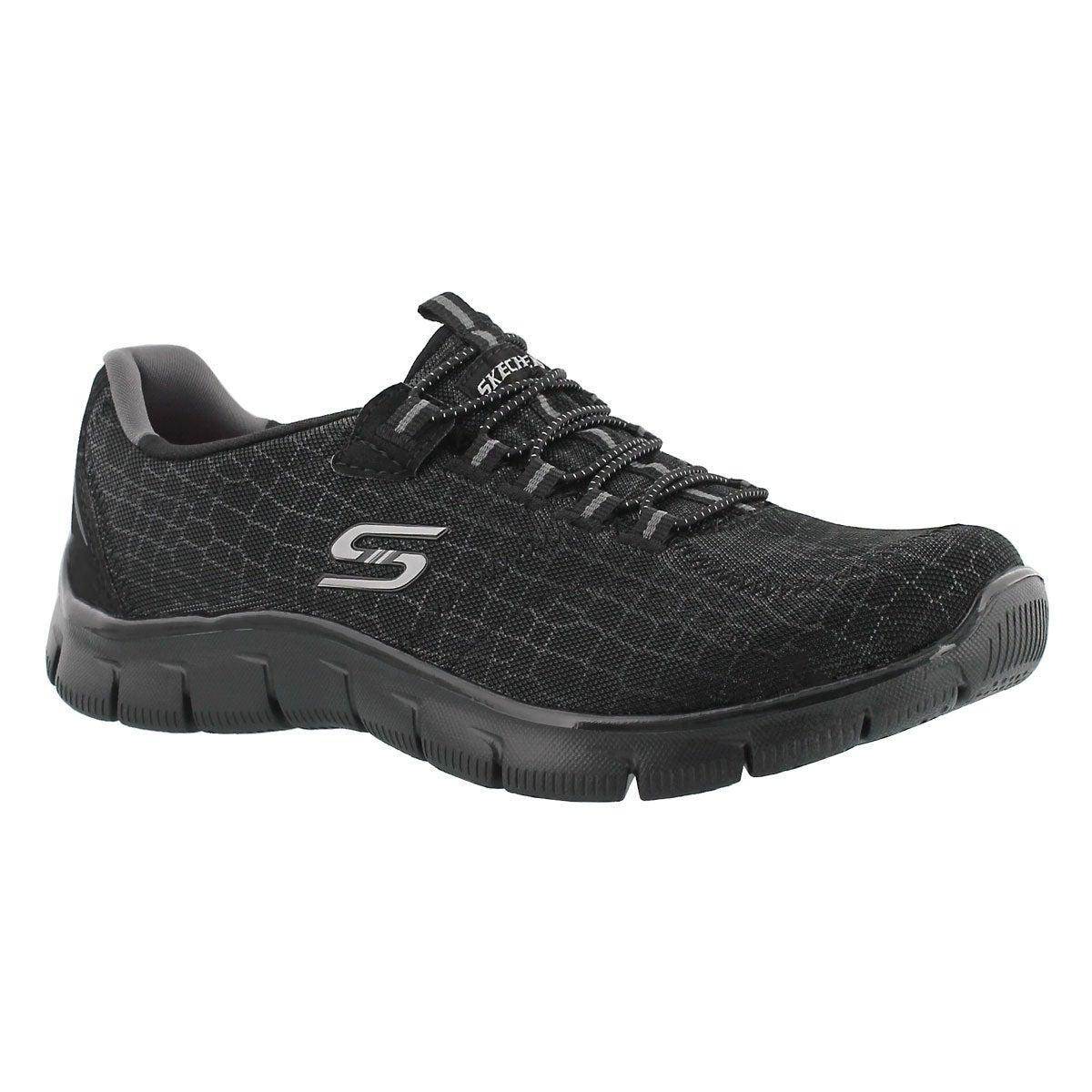 Lds Rock Around black slip on sneaker