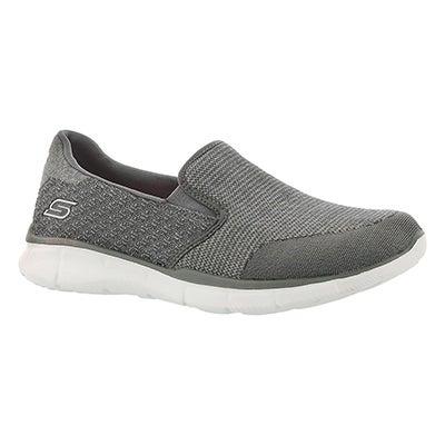 Skechers Women's SAY SOMETHING grey slip on sneakers