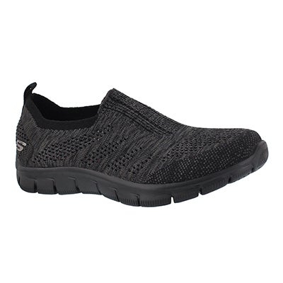 Skechers Women's EMPIRE INSIDE LOOK black slip on shoes
