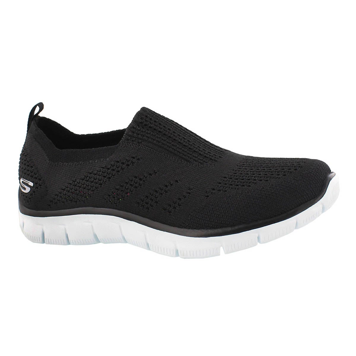 Lds Empire InsideLook bk/wt slip on shoe