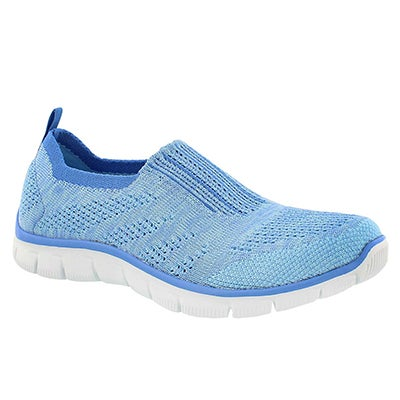Skechers Women's EMPIRE INSIDE LOOK blue slip on shoes