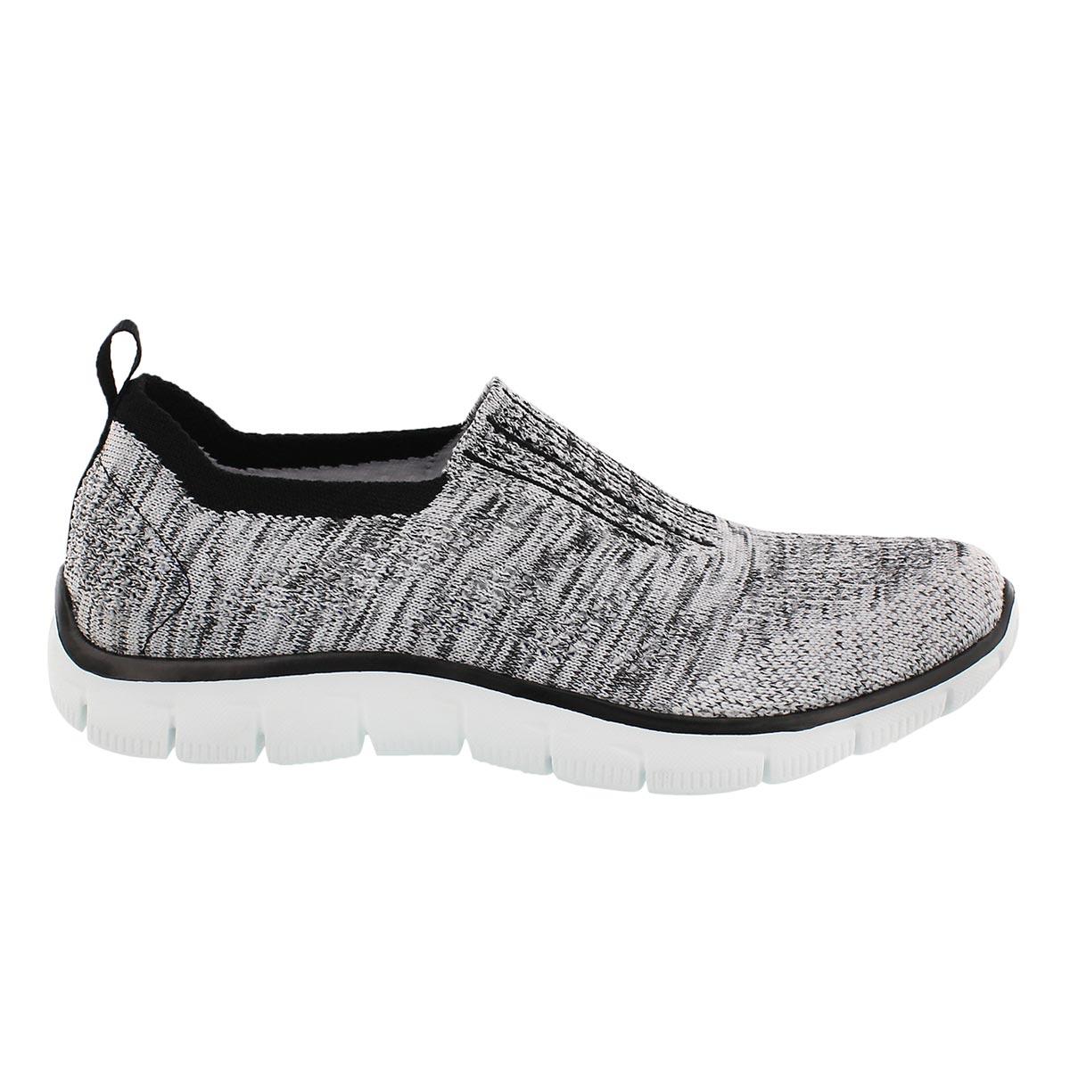 Lds Empire InsideLook blk/wt slipon shoe