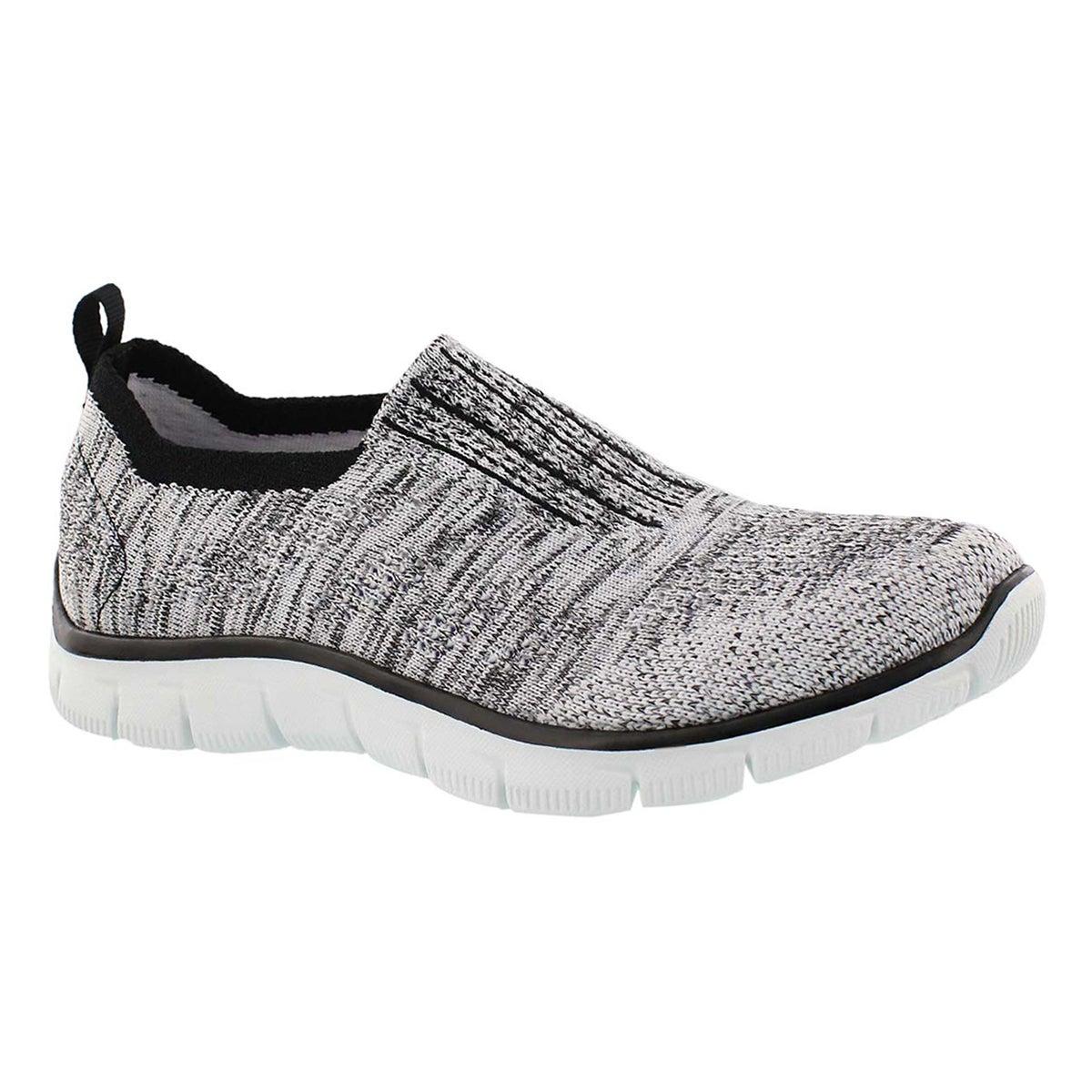 Women's EMPIRE INSIDE LOOK black/wht slip on shoes