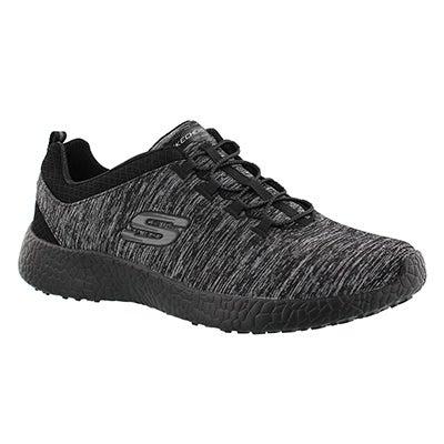 Lds Equinox black bungee running shoe