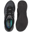 Lds Burst black lace up sneaker
