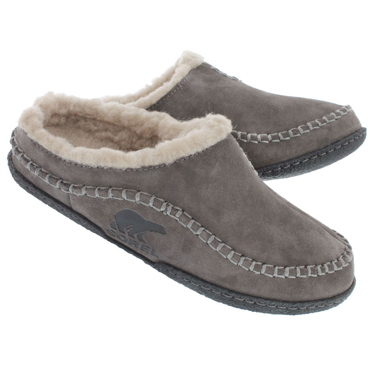 Mns Falcon Ridge shale open back slipper