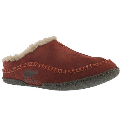 Mns Falcon Ridge spice open back slipper
