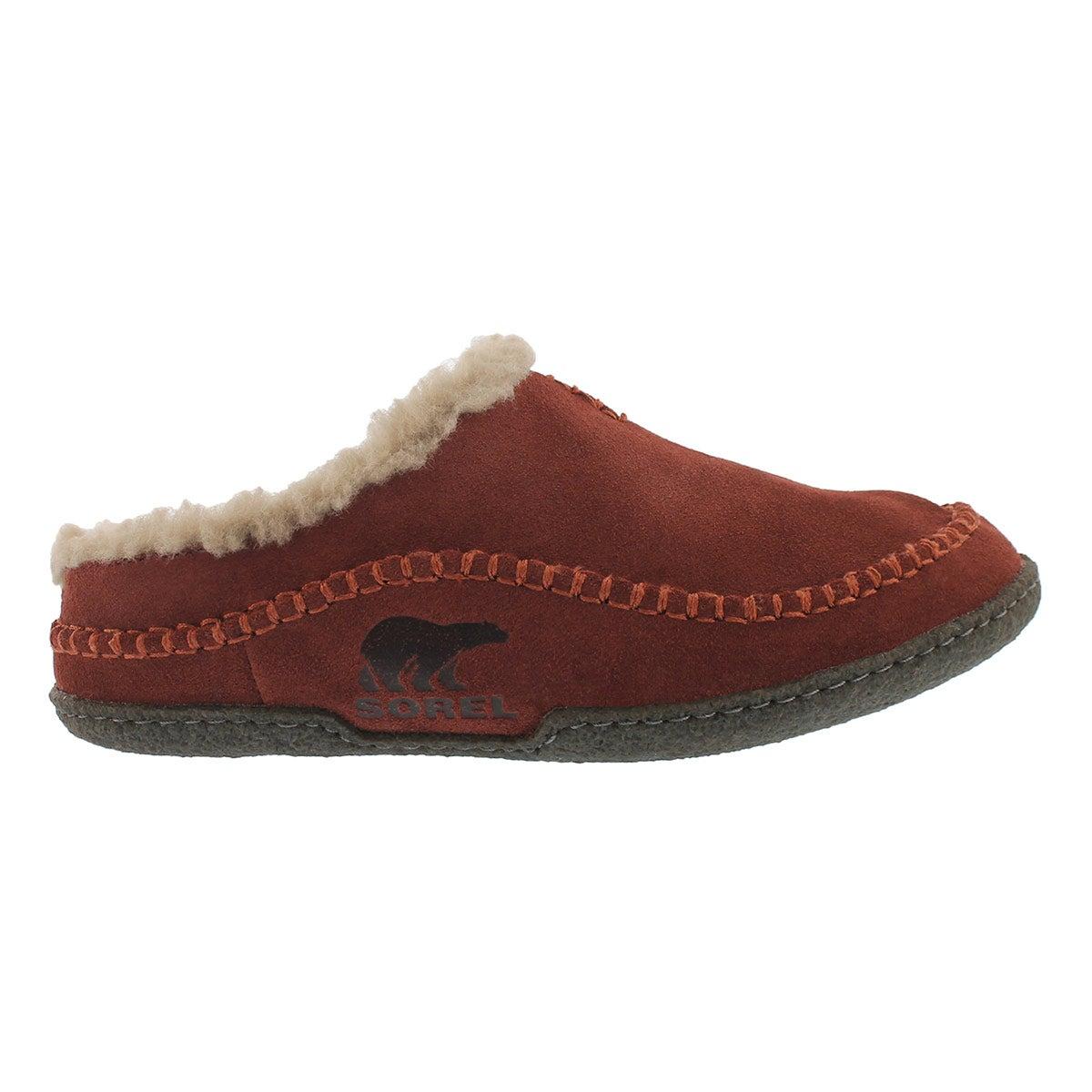 Mns Falcon Ridge spice open back slipper