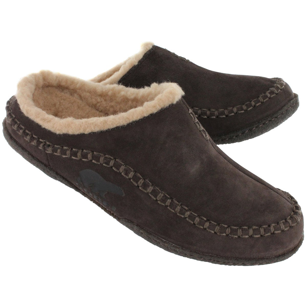 Mns Falcon Ridge bark open back slipper