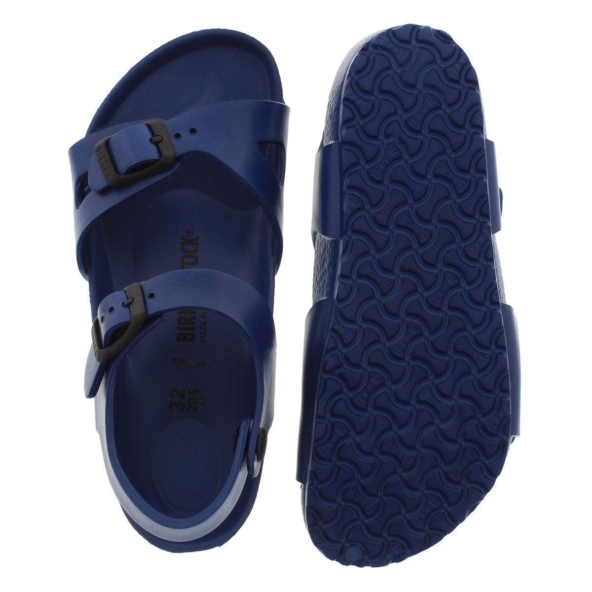 Kds Rio navy 2 strap sandal - Narrow