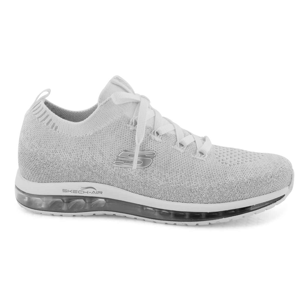Lds Skech-Air Element wht/silver sneaker