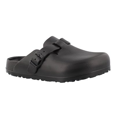 Birkenstock Women's BOSTON black EVA casual clogs