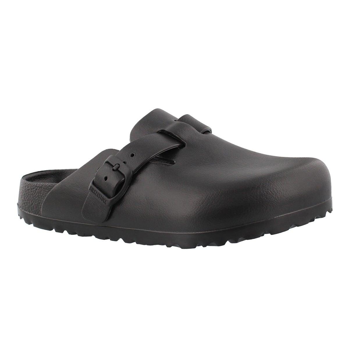Women's BOSTON black EVA casual clogs