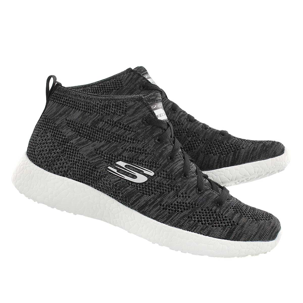 Lds Divergent blk chukka sneaker