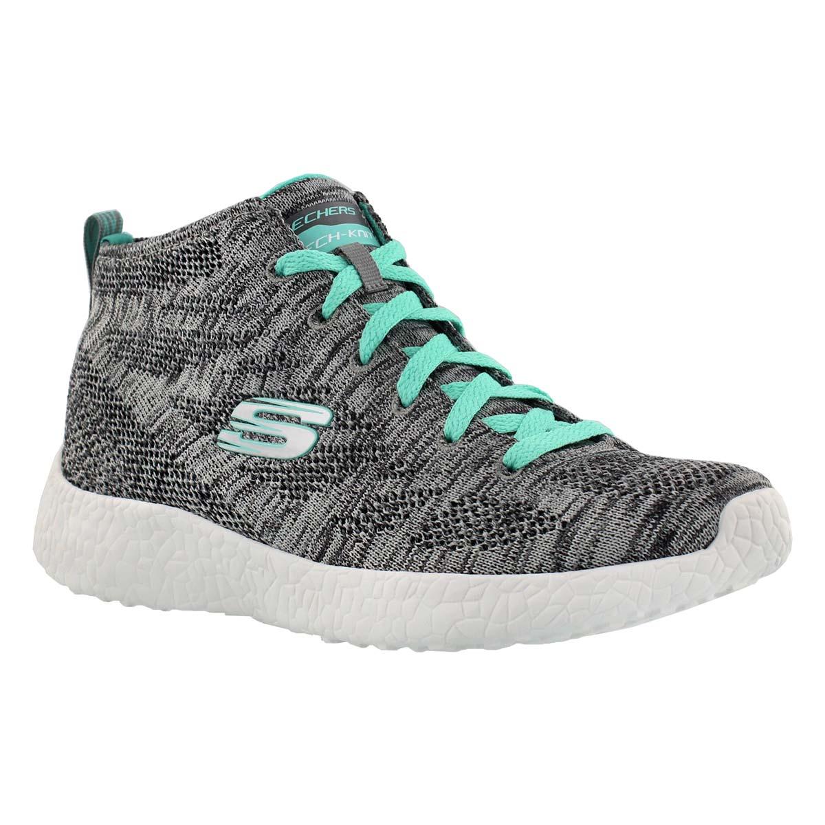 Women's DIVERGENT grey chukka sneakers