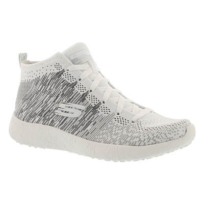 Lds Sweet Symphony wht/slv high top snkr
