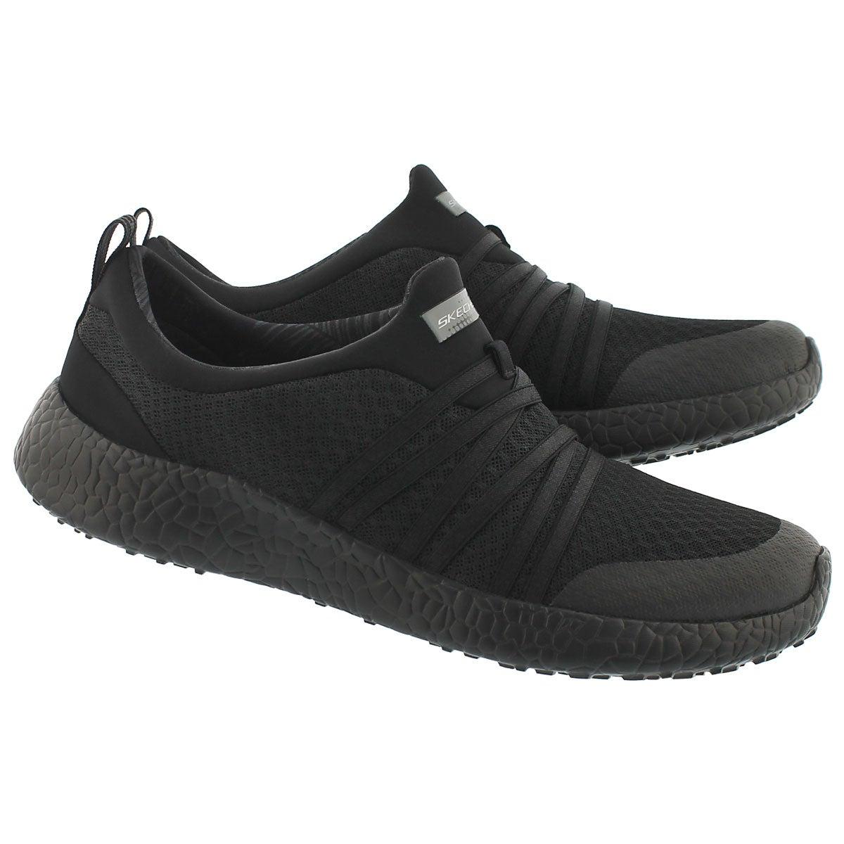 Lds Very Daring blk slip on sneaker