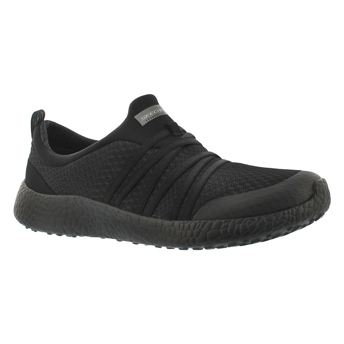 Women's VERY DARING black slip on sneakers