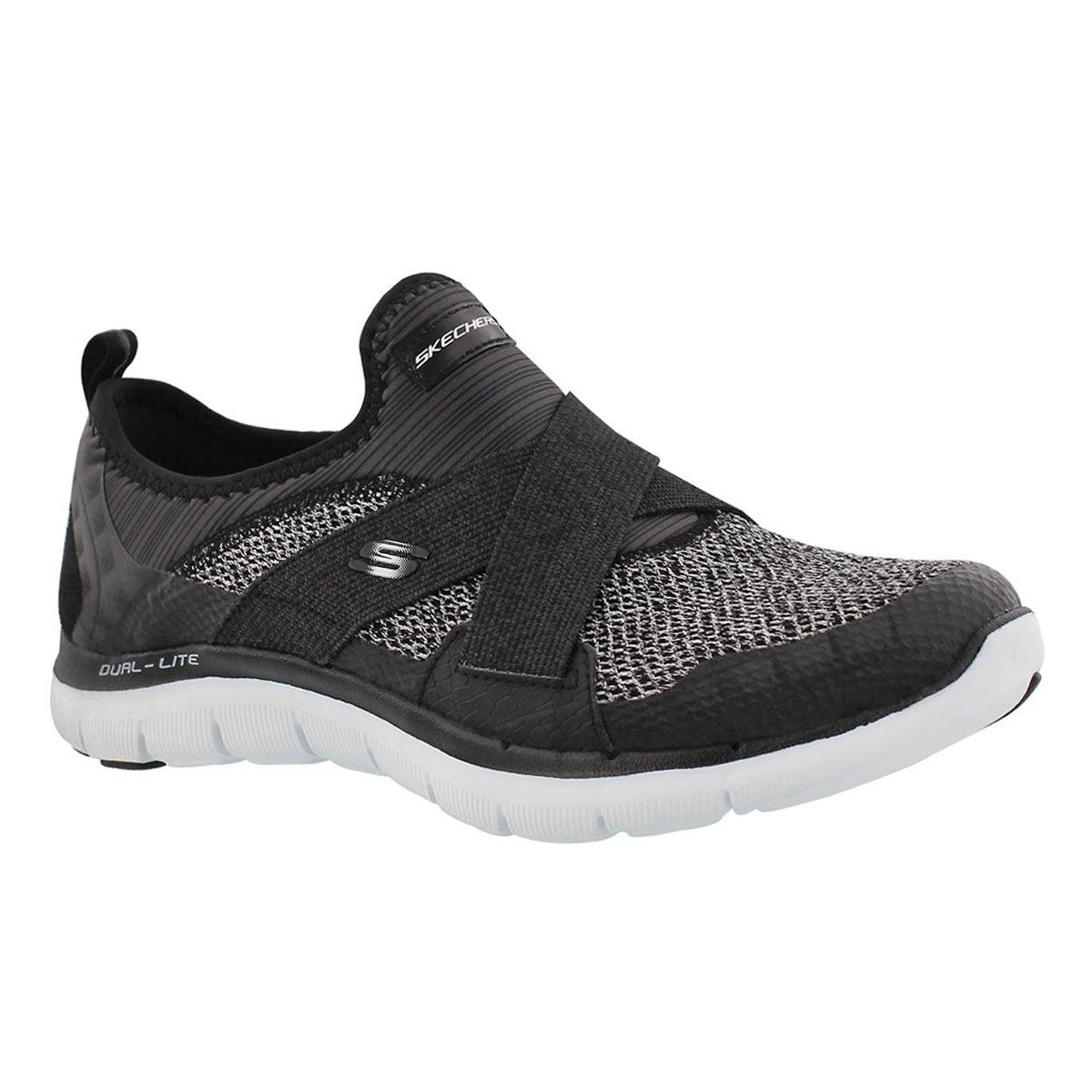 Lds FlexAppeal2.0 NewImage blk sneaker