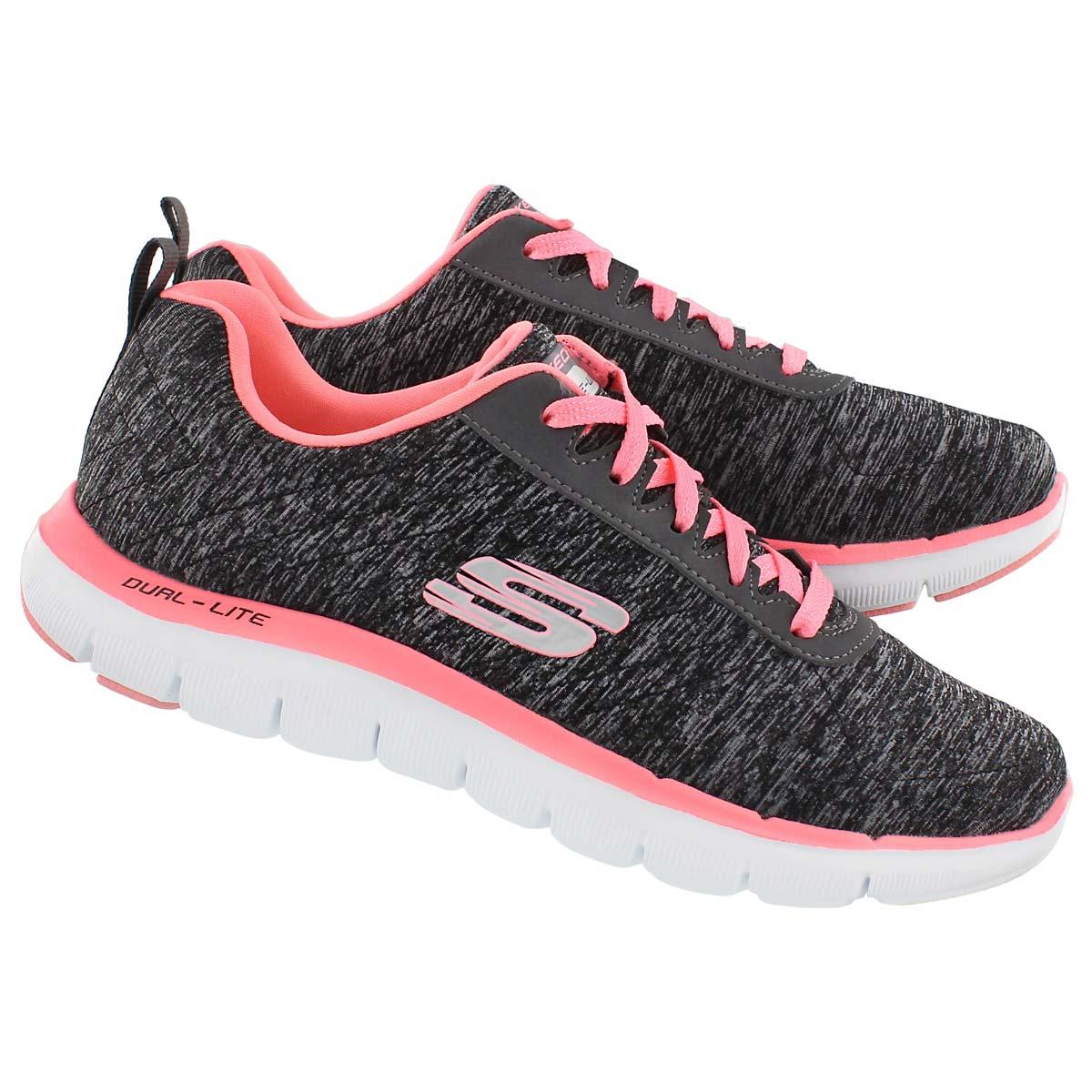 Skechers Women's Flex Appeal 2.0 Lace Up Running Shoe | eBay