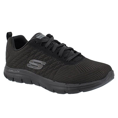 Skechers Women's FLEX APPEAL 2.0 BREAK FREE black runners
