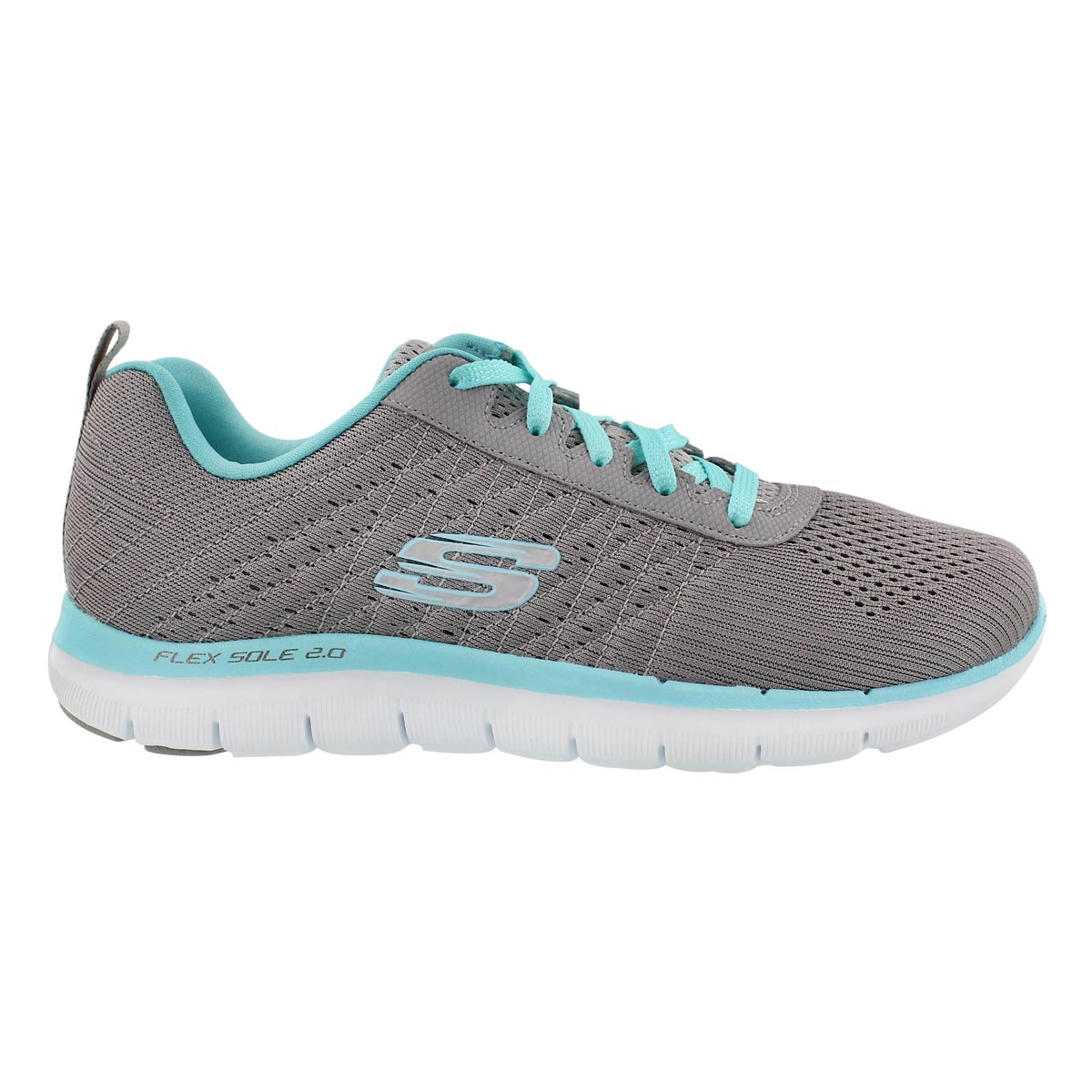Lds Flex Appeal 2.0 gry/lt blu runner