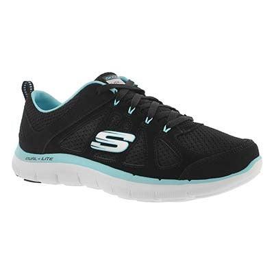 Skechers Women's FLEX APPEAL 2.0 SIMPLISTIC black runners