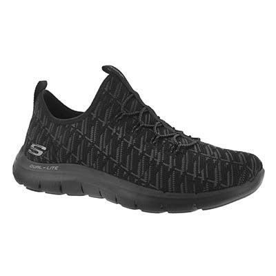 Skechers Women's FLEX APPEAL 2.0 INSIGHTS black sneakers