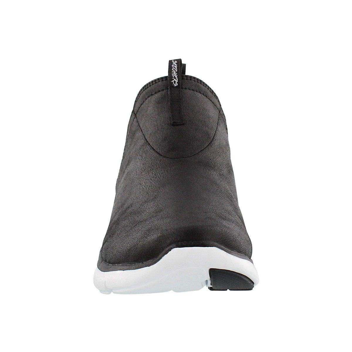 Skechers-Women-039-s-Flex-Appeal-2-0-Done-Deal-Double-Gore-Slip-On-High-Top-Sneaker