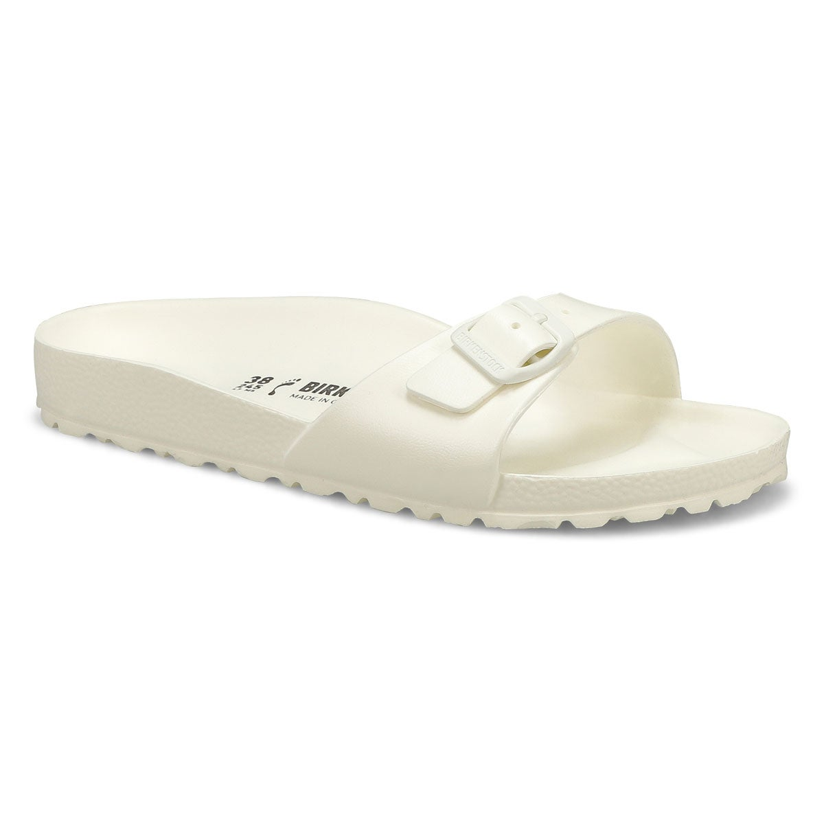 Lds Madrid wht EVA slide sandal - Narrow