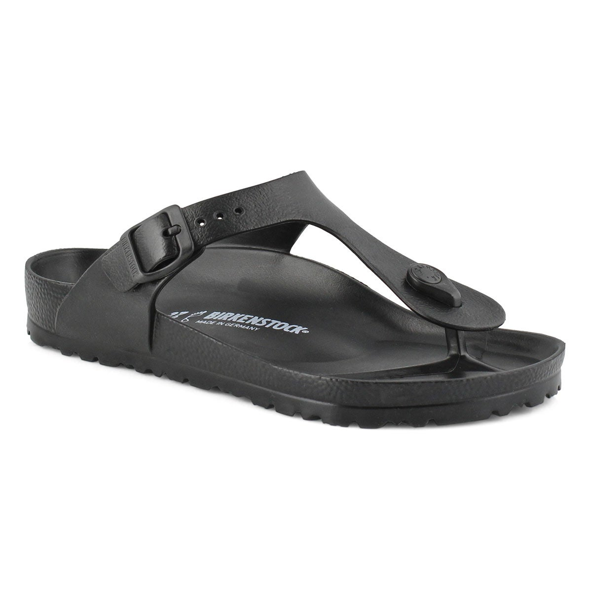 Women's GIZEH black thong sandals
