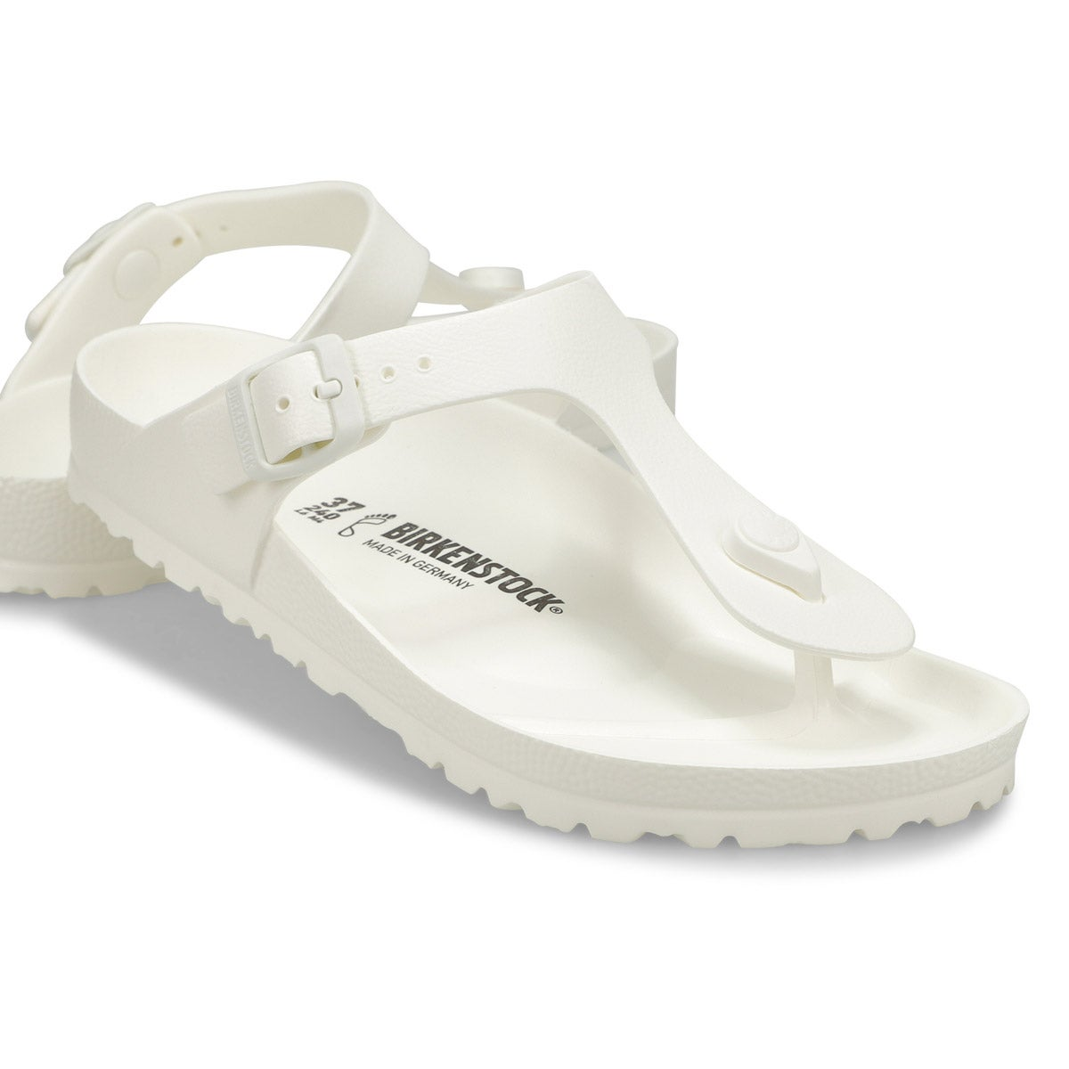Sandales tongs Gizeh, blanc, fem