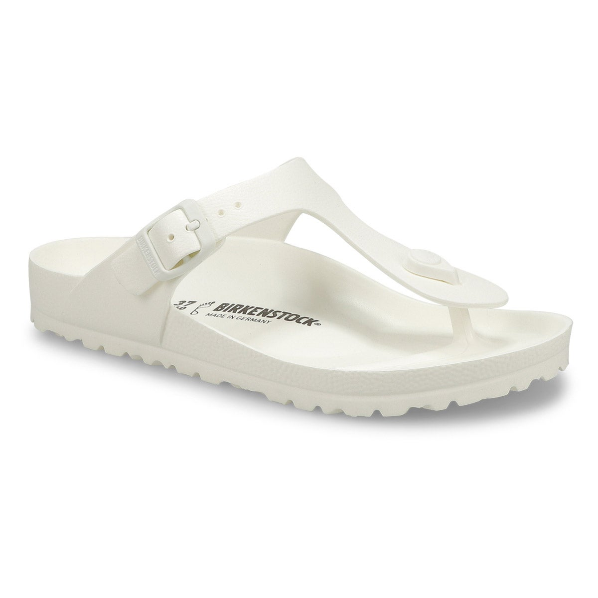 eb9633247c4 Birkenstock Women s GIZEH white thong sandals