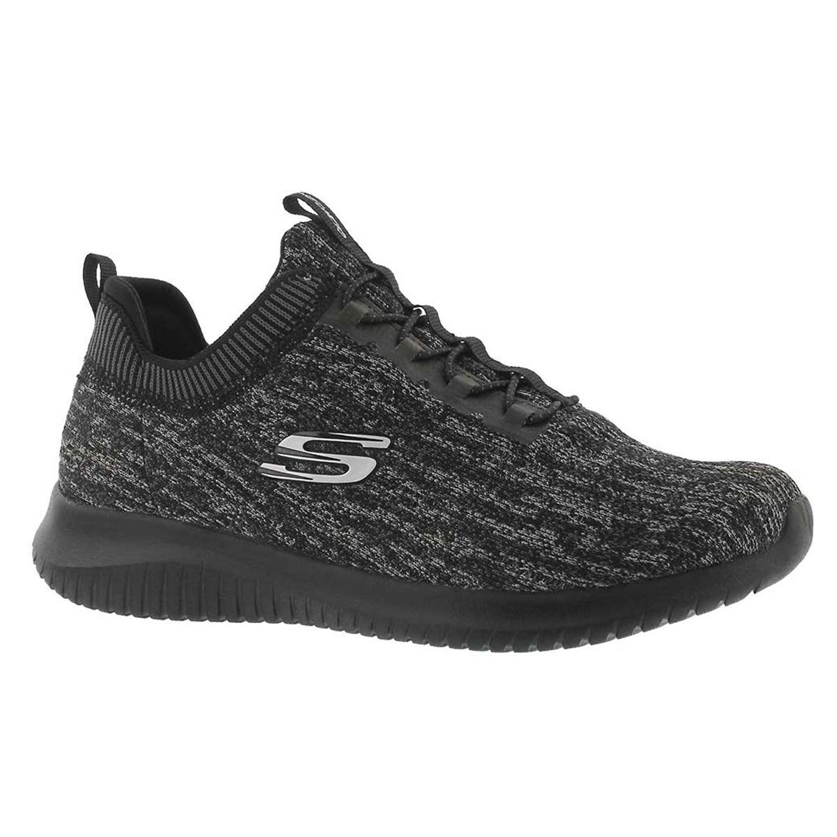 Women's ULTRA FLEX BRIGHT HORIZON blk/blk sneakers