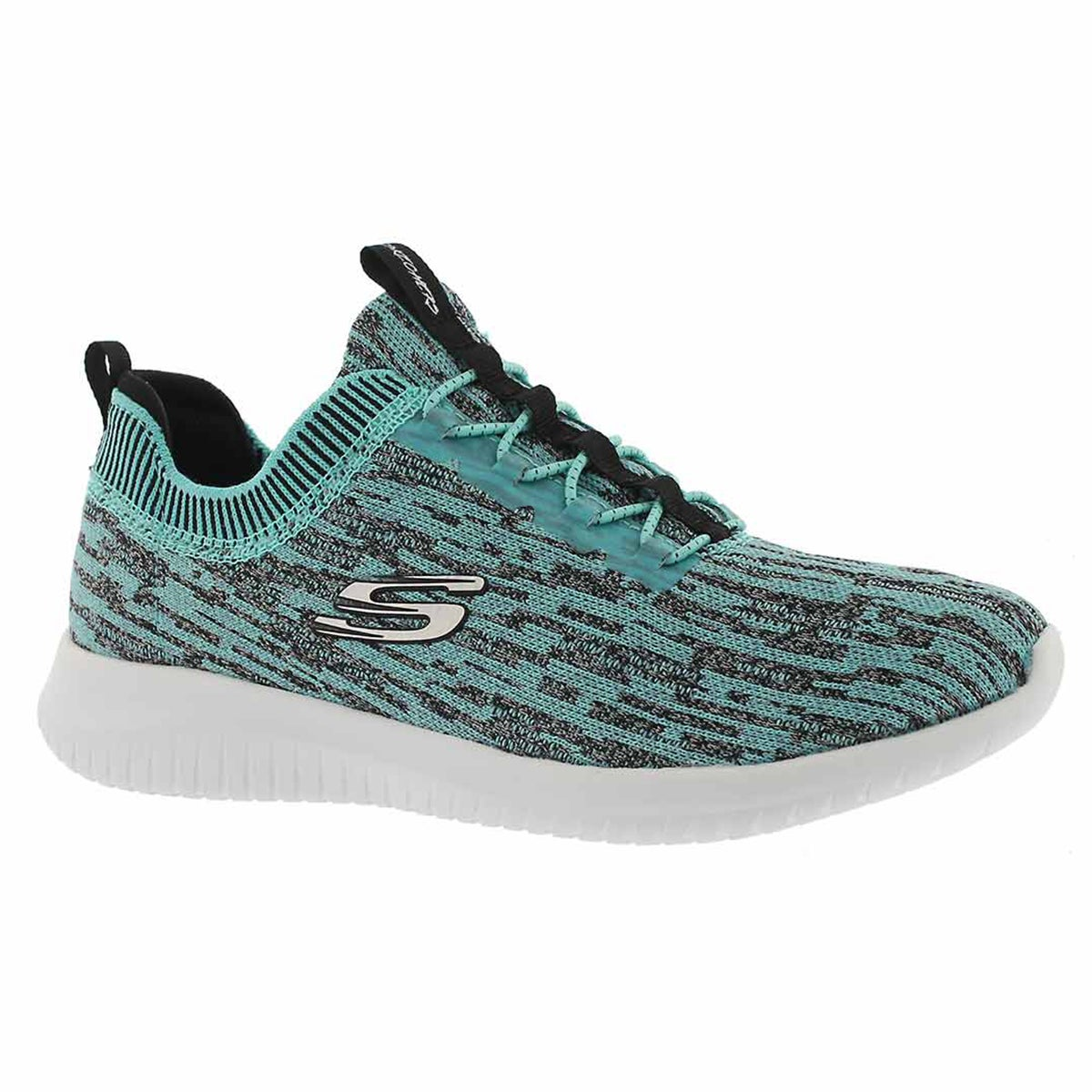 Women's ULTRA FLEX BRIGHT HORIZON tq/blk sneakers