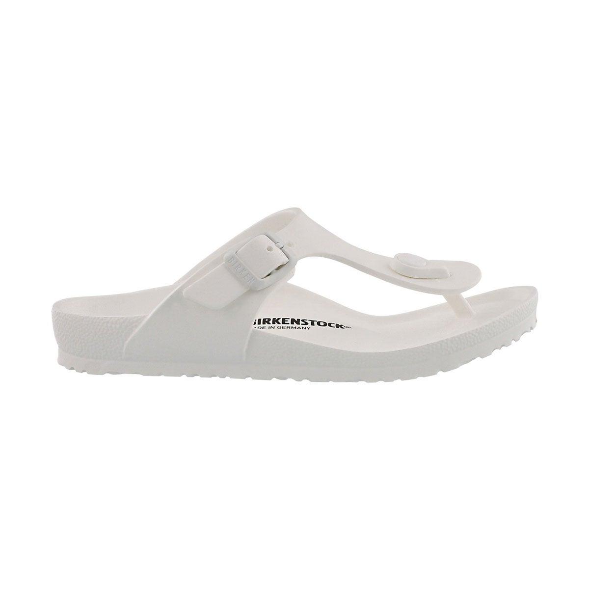 Sandale tong GIZEH EVA, blanc, filles