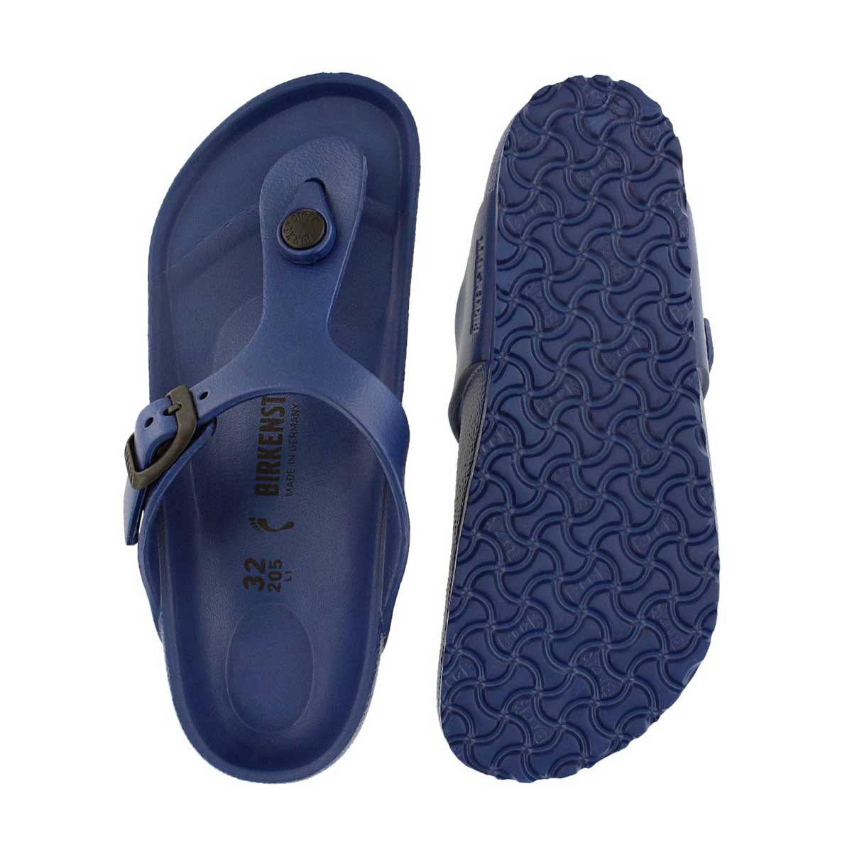 Grls Gizeh EVA navy thong sandal