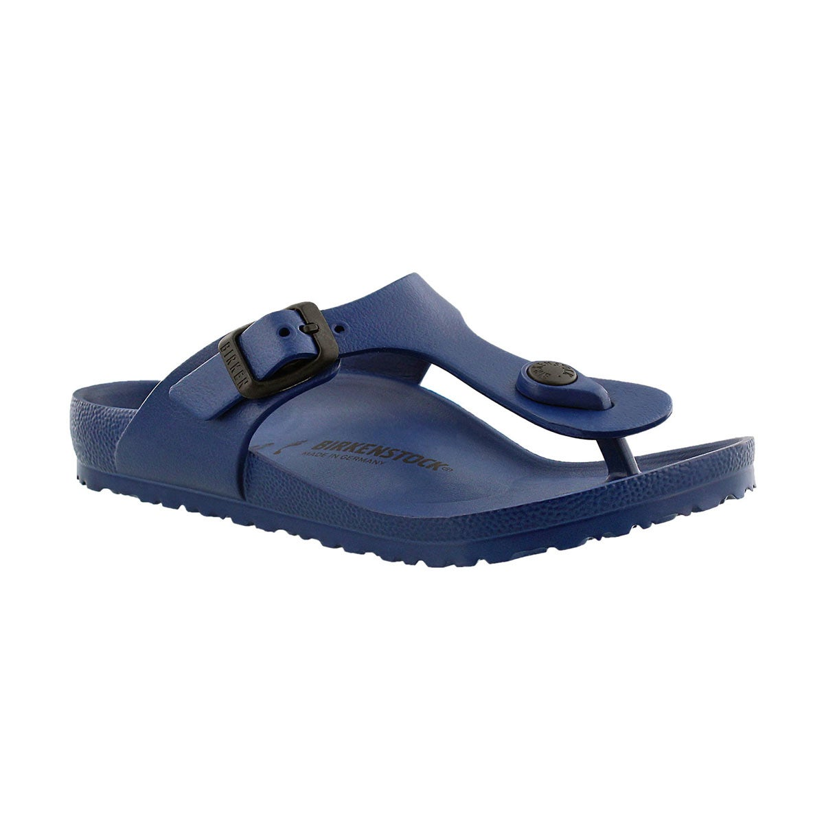 Girls' GIZEH EVA navy thong sandals