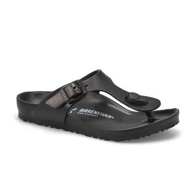 Grls Gizeh EVA black thong sandal
