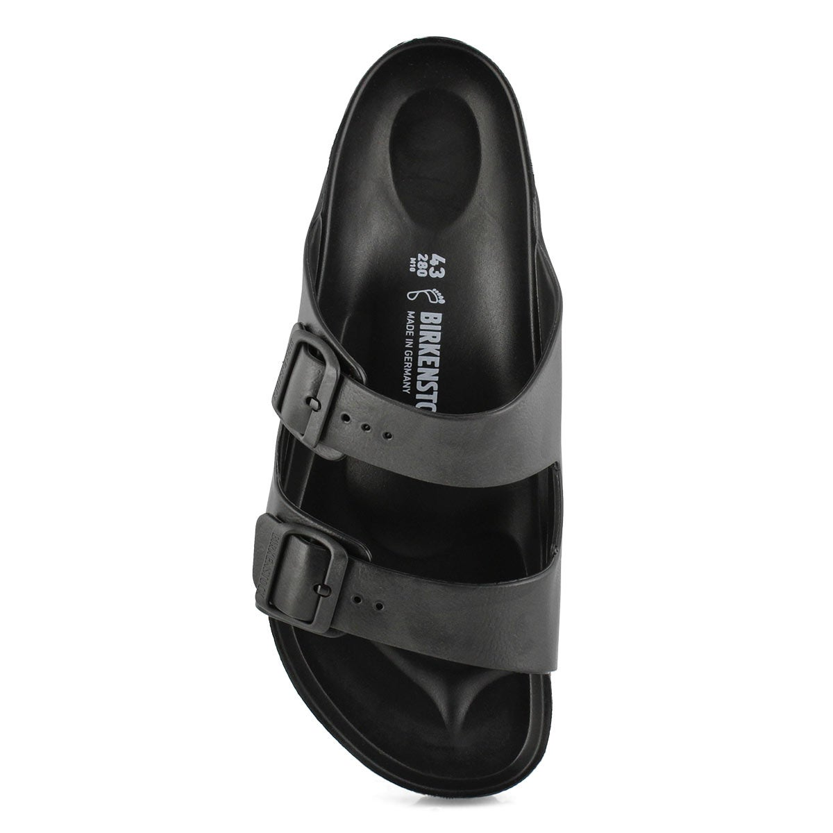 Mns Arizona black EVA sandal - Medium