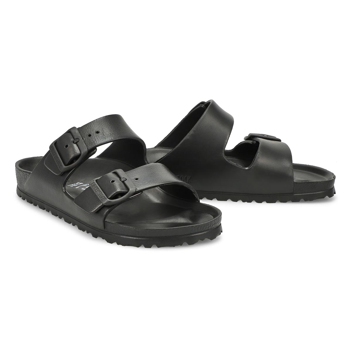 Lds Arizona black EVA sandal - Narrow